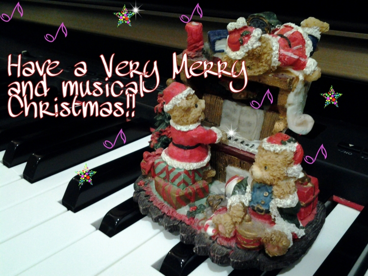 Merry Christmas, girls and guys! Have a lovely one!