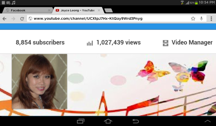 Yay! Topped one million views! Thank you all SO MUCH!!
